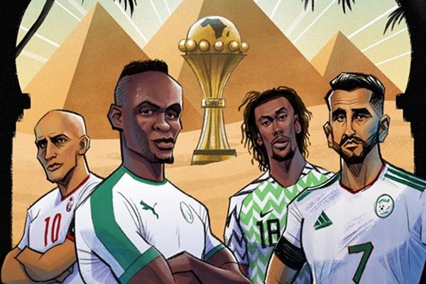 Bán kết AFCON 2019: Mahrez chiến 'Đại bàng xanh'