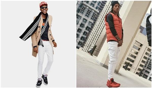 Bí quyết phối quần jean với đôi giày sneaker Jordan huyền thoại