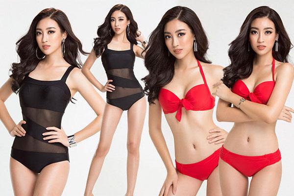 Đỗ Mỹ Linh nóng bỏng đến khó tin trước thềm chung kết Hoa hậu thế giới