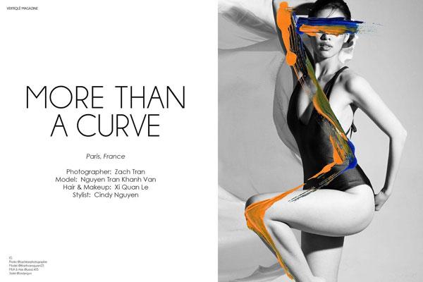 Hoa hậu Khánh Vân xuất hiện ấn tượng trên tạp chí thời trang quốc tế