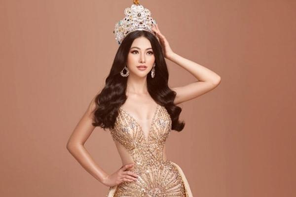 Hoa hậu Trái đất Phương Khánh đẹp xuất thần trong bộ ảnh đội vương miện
