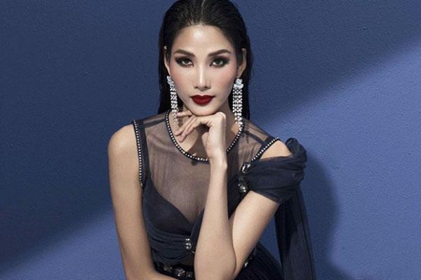 Á hậu Hoàng Thùy khoe nét đẹp cá tính và quyến rũ