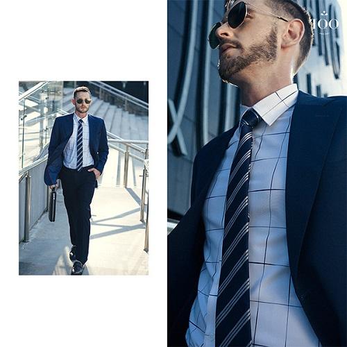 Lựa chọn sơ mi nam nào khi mặc vest?
