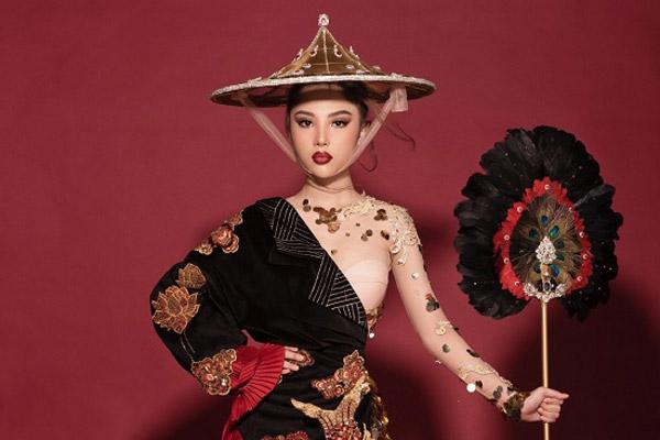 Hé lộ quốc phục của Mỹ Huyền tại Miss International Globe 2019