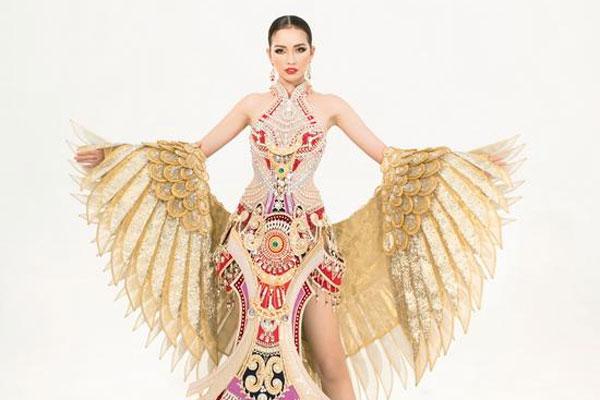 Ngọc Châu mang quốc phục hoành tráng tới Miss Supranational