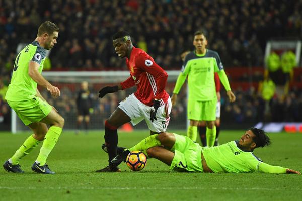 Derby MU - Liverpool: Pogba 'cân' tất cả
