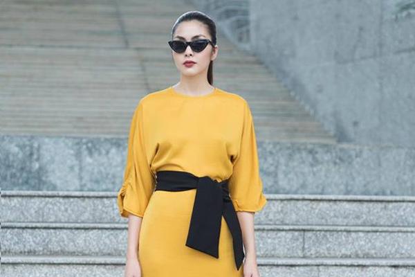 'Gái 2 con' Tăng Thanh Hà khoe dáng mượt mà trong loạt ảnh thời trang