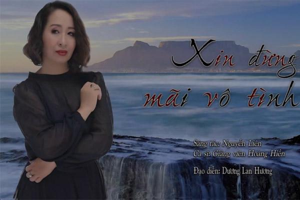 Nghệ sĩ Hoàng Hiền hát 'Xin đừng mãi vô tình' tri ân thầy giáo