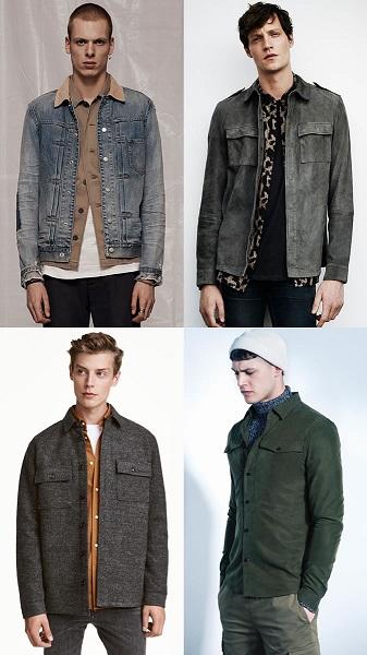 Cách phối đồ layer cho từng loại áo khoác nam