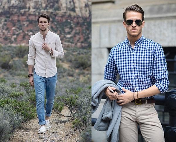 Bí quyết để mặc áo sơ mi nam đẹp và sành điệu hơn