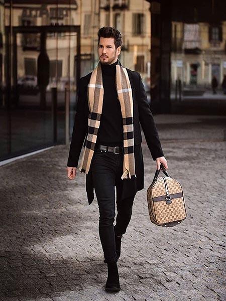 Mặc đẹp vào mùa đông lạnh, một vài cách quý ông có thể thử