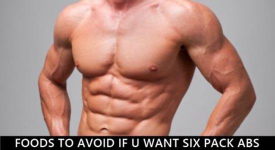 Nói không với 5 loại thực phẩm để giữ cơ bụng 6 múi
