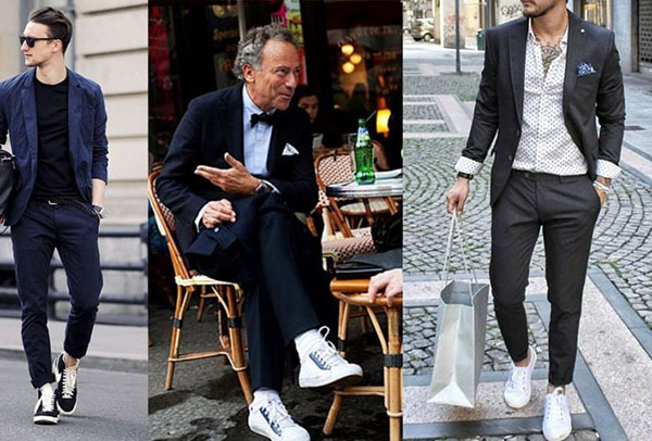 Tại sao nam giới phải có ít nhất một đôi giày thể thao?