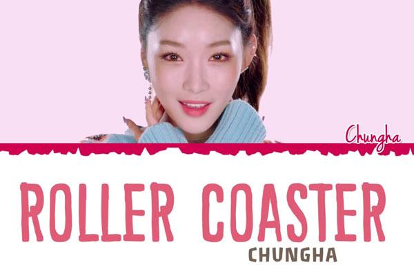 Roller Coaster - Chungha