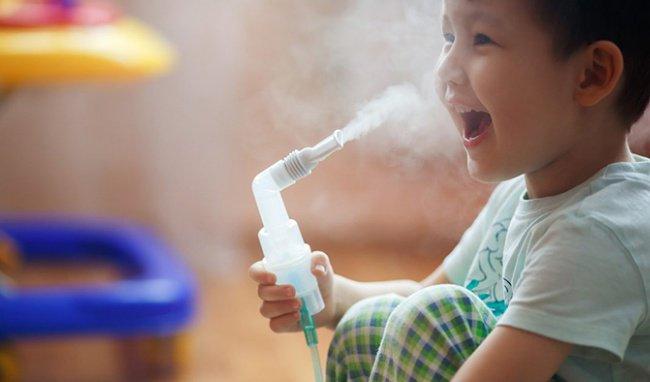Tuyệt đối không lạm dụng khí dung tại nhà cho trẻ