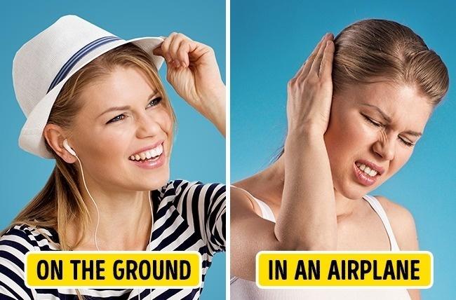 Ngạc nhiên những điều xảy ra với cơ thể bạn mỗi khi bước chân lên máy bay