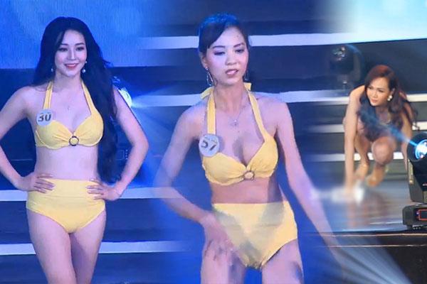 Màn trình diễn bikini 'vồ ếch' và đa sắc thái của thí sinh Đồng Nai