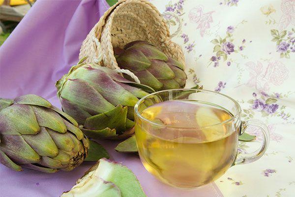Uống trà, ăn Atisô giúp giải độc gan và ngăn ngừa thiếu máu